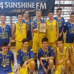A győztes Debreceni csapat